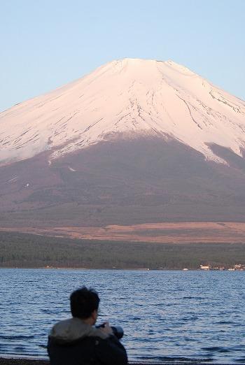 富士山を眺める・・・