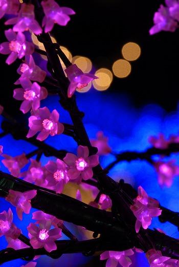 桜のLED