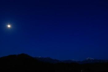 月がキレイでした・・
