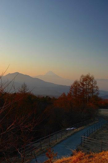 富士山早朝撮影