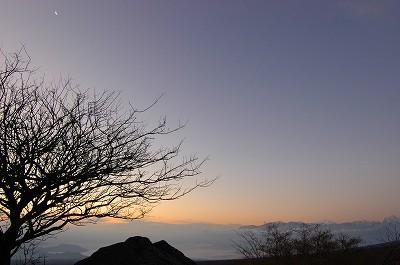月・北岳・甲斐駒ケ岳