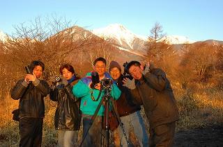 左からコーイチローさん、FRP屋さん、加藤先生、青い月さん、僕