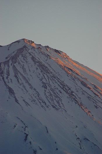 富士山頂上・・